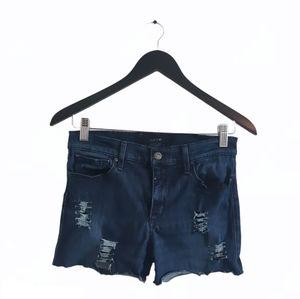 Reworked JOE'S JEANS Distressed Denim Shorts
